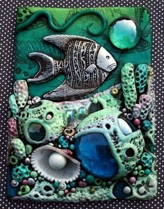 Coral Reef ACEO by *MandarinMoon on deviantART