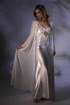 Luxury Satin Nightdress - Jane Woolrich 13754