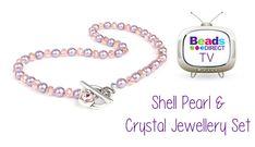 Pearl & Crystal Necklace Kit | Birthday Bonus Tutorial with Sarah Millso...
