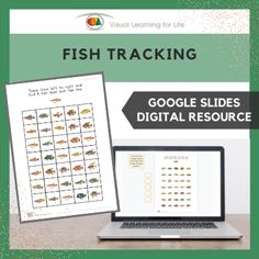 This digitally interactive resource is designed for use with Google Slides. This resource contains 20 slides in total. Answer sheets are included.The student must find all of the fish that look the same as the example at the top of the page, and drag the orange circles to mark the correct answers.