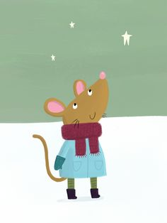 Mouse | Animals - Becky Down Illustration