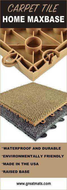 Beautiful Interlocking Basement Floor Tiles