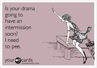 drama intermission.  This is a girl at work. ...Click this image to browse lots more great #quotes & #funny pics!