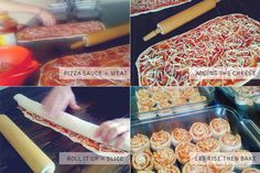 Simple Pizza Buns Recipe