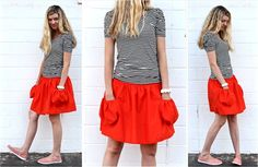 TUTORIAL: Summer Skirt with Deep Pockets | MADE