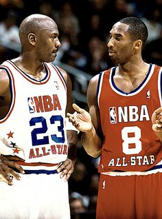 Michael Jordan Vs Kobe Bryant <--- Really? We all know Michael is 1,000,000X better than Kobe and Lebron James