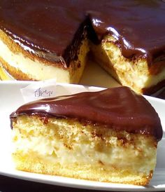 Greek Desserts, Greek Recipes, Greek Pastries, Macaron Recipe, Food Network Recipes, Delicious Desserts, Cheesecake, Deserts, Food And Drink
