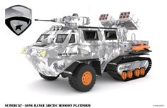 """Thanks to HISSTANK.com boards member Nogamusprime for posting up his incredible G.I. Joe and Cobra 3D vehicle designs. Only one is currently built in a custom format """"The PAC-RAT"""", but the Art Designs alone are something to behold. Vehicles include: COBRA H.I.S.S. Tank Wolverine FANG G.I. Joe APC Supercat Check out all of Nogamusprime's design work after the jump."""