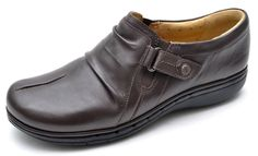 Clarks Unstructured UN CASEY Brown Slip On Oxfords Women's 6 - NEW #Clarks #Oxfords #Casual