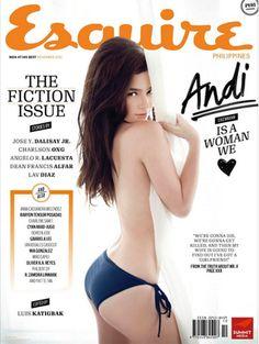 Andi Eigenmann on Esquire Magazine
