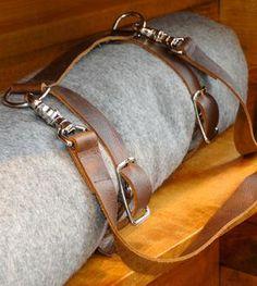 Leather Blanket Carrier Strap