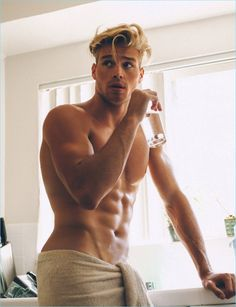 Matthew Noszka Takes to the Beach for Wonderland Cover Story