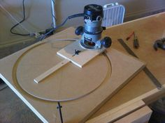 Thien Baffle Separator #2: Cutting Circles - by Lance @ LumberJocks.com ~ woodworking community