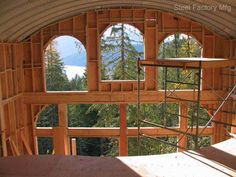 Steel Quonset Homes and Designs | Steel Homes & Green Buildings by Steel Factory Mfg American Made Steel ...