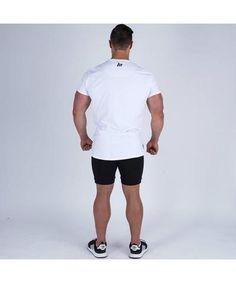 Corex Fitness Graphic Mens Gym Vest Blue Athletic Fit Training Workout Tank Top