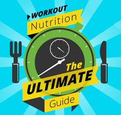 The Complete Guide to Workout Nutrition [Infographic] http://greatist.com/health/complete-guide-workout-nutrition-infographic