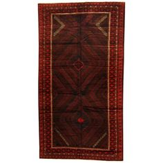 Found it at Wayfair - Balouchi Hand-knotted Rust/Red Area Rug
