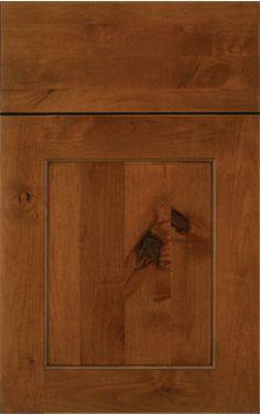 Innermost Cabinets Knotty Alder Chestnut Ebony Glaze