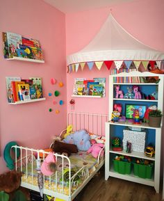 Modern & Fun Girl Room