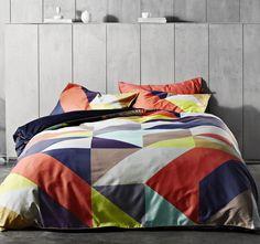Aura Kaleidoscope Quilt Cover Range