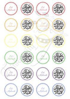 Eid Mubarak Stickers, Eid Stickers, Aid Mobarak, Free Flower Clipart, Folding Socks, Eid Crafts, Rainbow Colours, Ramadan Decorations, Geometric Wedding