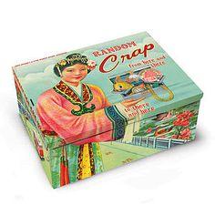 'Random Crap' Cigar Tin - storage