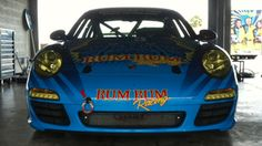 RumBum Racing moves from BMW M3 to Porsche Carrera!  Yea!