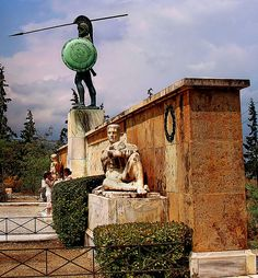 Thermopylae and Sparta Ancient Greek Art, Ancient Rome, Ancient Greece, Greek History, Ancient History, Places To Travel, Places To See, Greek Warrior, Parthenon
