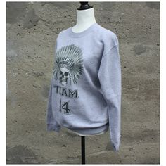 Chandail long Gildan (S) Boutique, Sweatshirts, Sweaters, Fashion, Eagle Feathers, Skull Design, Long Sweaters, Full Sleeves, Hat