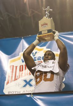DE Alex Okafor (80) is named the Most Outstanding Defensive Player of the 2012 Valero Alamo Bowl.
