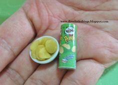 Dollhouse Miniature Pringles Potato Chips by ilovelittlethings.deviantart.com on @deviantART