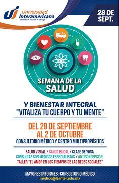 Semana de la Salud Universidad Interamericana Puebla.