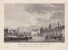 -View of the Entrance of One of the Gates of Bari