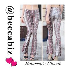 ARRIVING TUESDAY!!!  Cute printed leggings ARRIVING TUESDAY.  Available for PRESALE.     Quantity Available: 2 small, 2 medium and 2 large.   You may purchase this listing.     ⚡️Please state which size you are buying.       Sizing chart in photo 2.      RETAIL PRICES ARE FIRM UNLESS BUNDLED.   10% off Bundles of 2 or more.    (Photos used with permission of designer) Pants Leggings