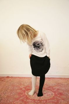 Moon skirt by popupshop.net