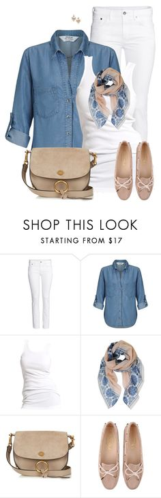"""""""Denim Shirt"""" by daiscat ❤ liked on Polyvore featuring H&M, Miss Selfridge, Soaked in Luxury, Humble Chic, Chloé, Tod's and Dorothy Perkins"""