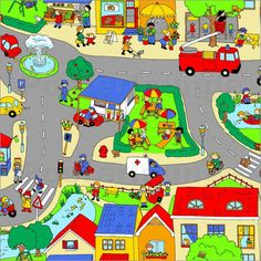 Shop Our Busy Neighbourhood Poster created by FluffyFeelings. Personalize it with photos & text or purchase as is! Hands On Activities, Therapy Activities, Therapy Ideas, Speech Language Pathology, Speech And Language, Highlights Hidden Pictures, Toddler Pictures, Learn German, City Scene