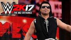 WWE 2K17 PS4 - The Miz Championship Entrance at Fast Lane
