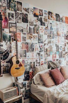36 lovely dorm room organization ideas on a budget 18 Dream Rooms, Dream Bedroom, Master Bedroom, My New Room, My Room, Bedroom Inspo, Bedroom Decor, Bedroom Ideas, Bedroom Designs