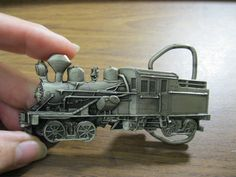 Train Engine Belt Buckle Limited Edition by @snapdragonslair