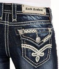 Rock Revival Ruella Straight Stretch Jean - Women's Jeans | Buckle ...