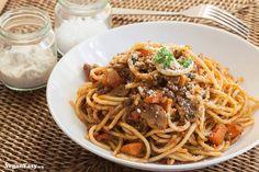 Spaghetti Bolognese -VeganEasy.org