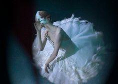 "Ulyana Lopatkina Ульяна Лопаткина, ""The Dying Swan"" choreography by Mikhail Fokine, music by Camille Saint-Saëns, Mariinsky Ballet - Photographer Elena Rozenshein"