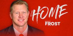 One of the nation's most successful head coaches the past two seasons and a member of two Husker national championship teams, Scott Frost will return to his alma mater as Nebraska's Head Football Coach.
