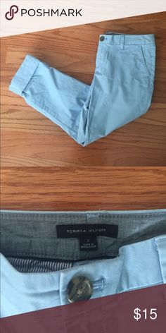 NWOT Tommy Hilfiger Roll-Up Pants Brand new Tommy Hilfiger pants. Versatile and easy to convert from an ankle pant to a Capri! Tommy Hilfiger Pants Capris