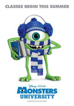 Monsters University...making Grant take me on Saturday!