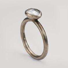 Ruth Tomlinson — white gold, white diamond