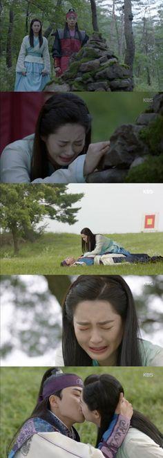 "[Spoiler] ""Hwarang"" Park Seo-joon and Ko Ah-ra finally breathe @ HanCinema :: The Korean Movie and Drama Database"