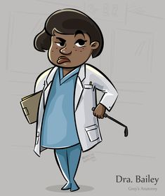 Dra. Bailey - Grey's Anatomy