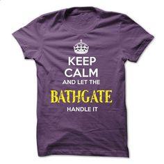 BATHGATE KEEP CALM Team - teeshirt cutting #striped shirt #cheap tee shirts